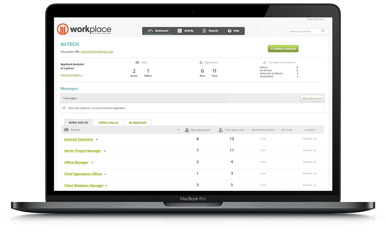 Hire on the Go | Applicant Tracking | Workplace HCM